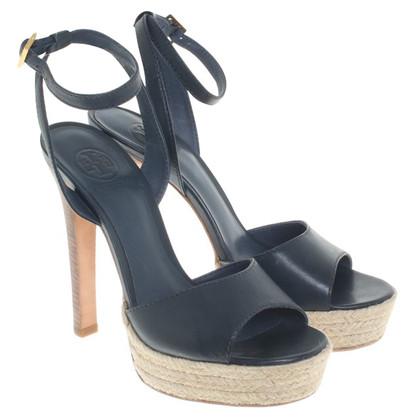 Tory Burch sandales en cuir