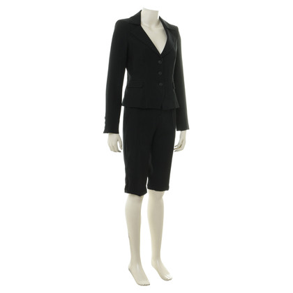 Armani Jeans Pants suit black