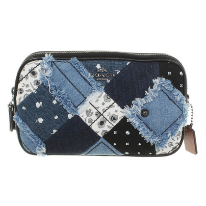 Coach Shoulder bag in patchwork design