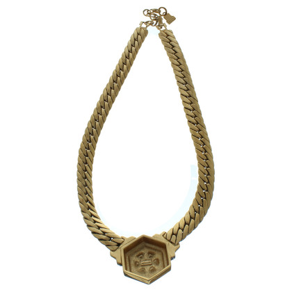 Lanvin Golden statement necklace