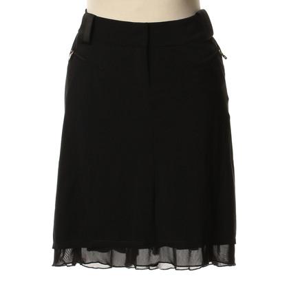 Marithé et Francois Girbaud skirt in black