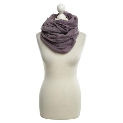 Faliero Sarti Schal in Violett