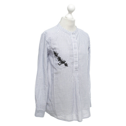 81 hours Oversized blouse with stripe pattern