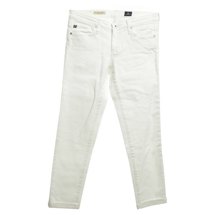 "Adriano Goldschmied Jeans ""The Stilt Roll-up"" in white"