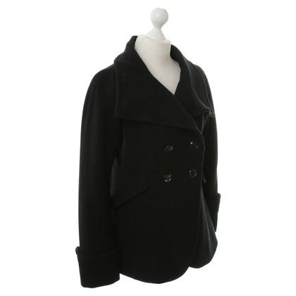 Armani Collezioni Giacca di lana in nero