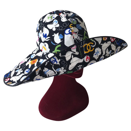 Chanel Hat with pattern