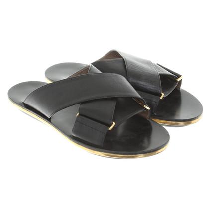 Marni Slipper in Black
