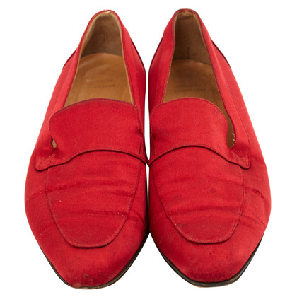 Hermès Mocassini in rosso
