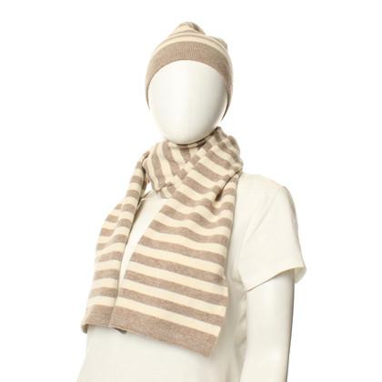 Prada Strickmütze und -Schal