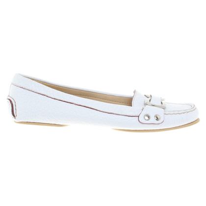 Dolce & Gabbana Ballerinas in white
