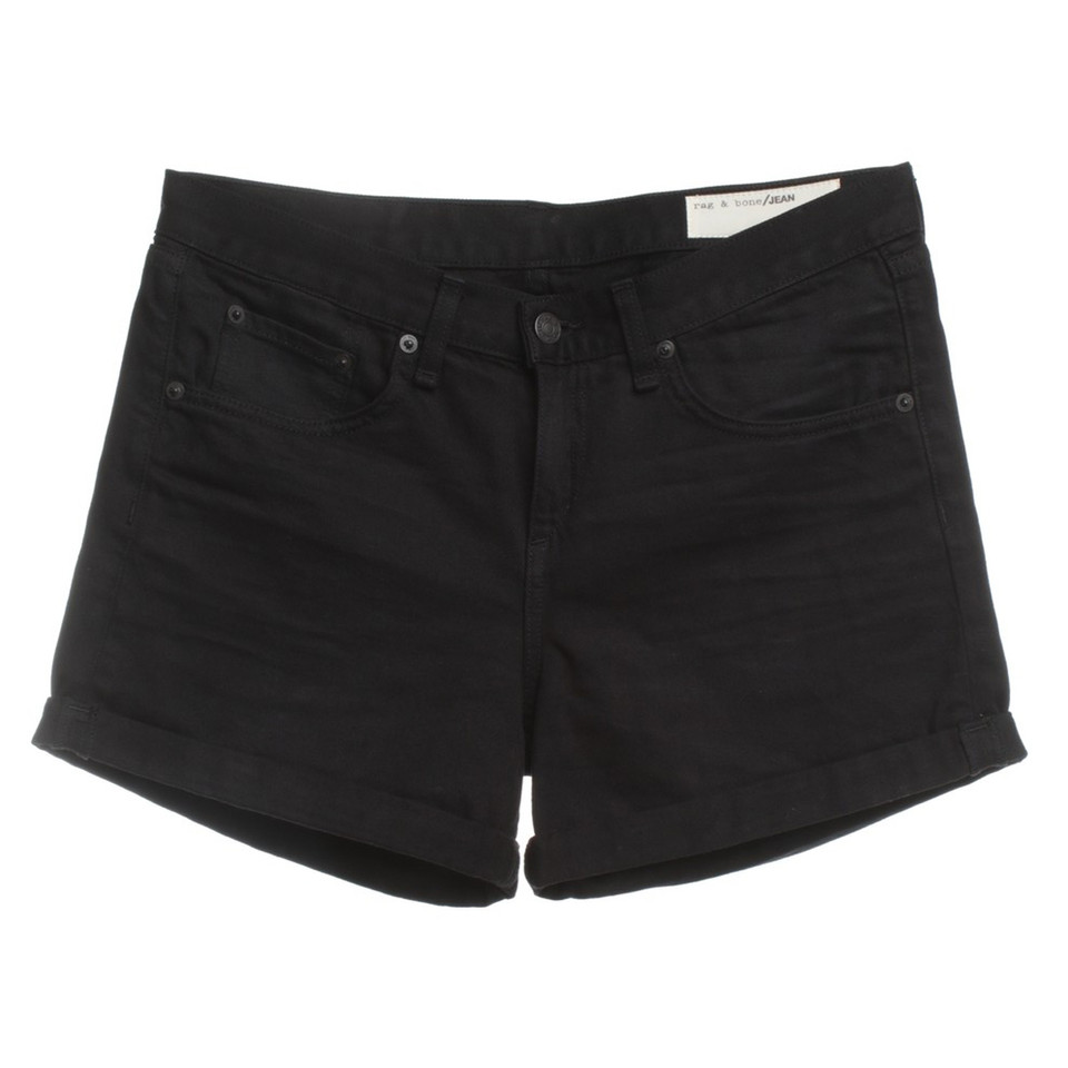 Rag & Bone Jean Shorts in Black
