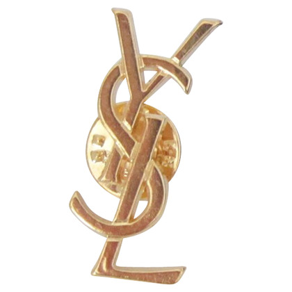 Yves Saint Laurent Broche logo YSL