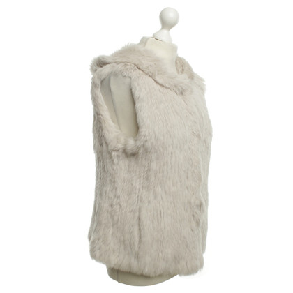 Yves Salomon Rabbit fur vest