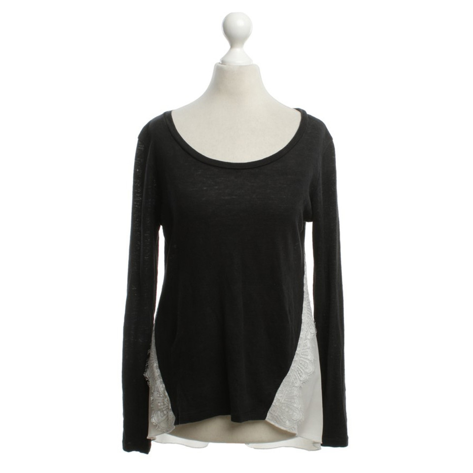 Sandro Sweater with lace