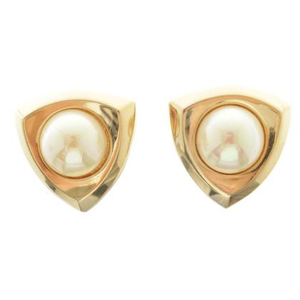 Christian Dior Oor clips met stenen