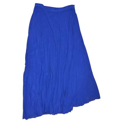 Blumarine blue maxi skirt