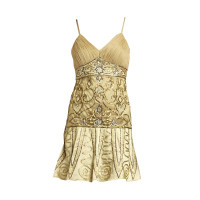 Sue Wong Ribbon embroidered cocktail dress
