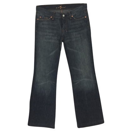 7 For All Mankind Jeans con gambe svasate