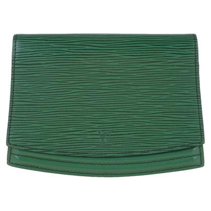 """Louis Vuitton """"Tilsitt Pochette Epi Leather"""" in green"""