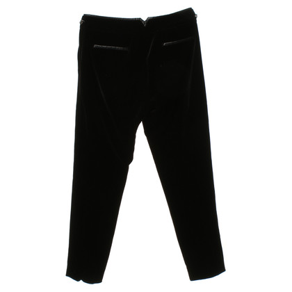 Escada Velvet pants in black