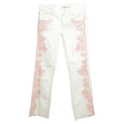 Red Valentino Jeans with embroidery