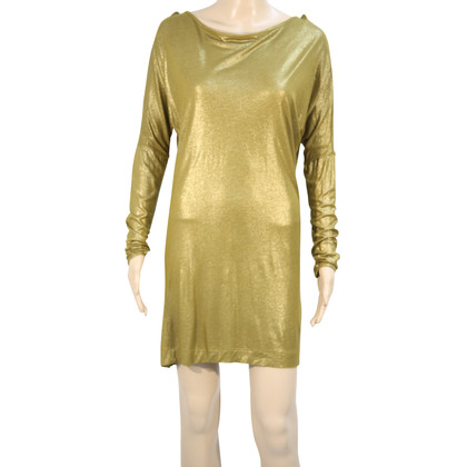 French Connection Goldfarbenes Kleid