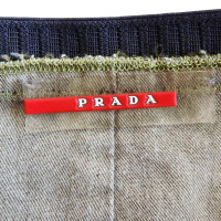 Prada skirt in Safari style