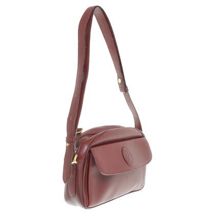 Cartier Shoulder bag in Bordeaux