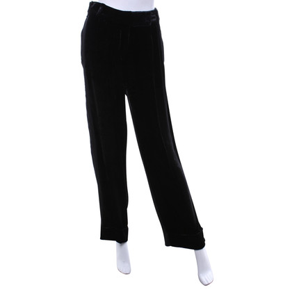 Nina Ricci trousers of material mix