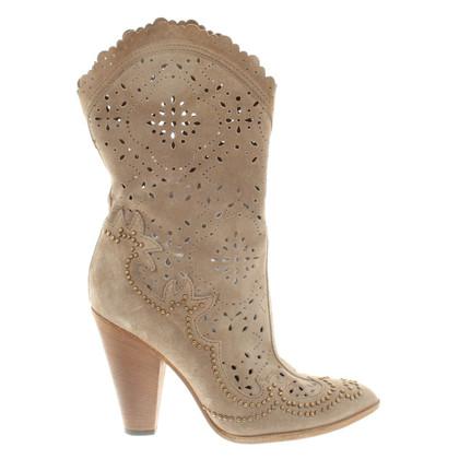Dolce & Gabbana Stiefeletten aus Wildleder