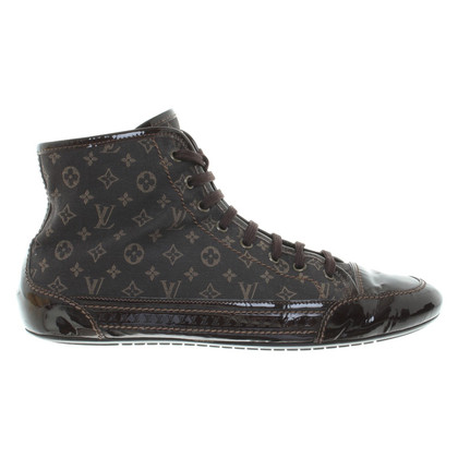 Louis Vuitton High Top Sneakers met Monogram