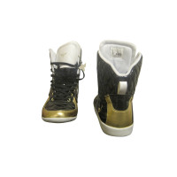 Other Designer High sneakers-gold/black