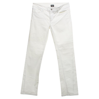 D&G Jeans in Weiß