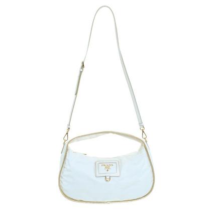 Prada Handtasche in Creme