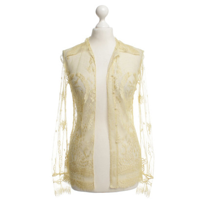 Hermès Elegant blouse in lace