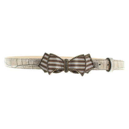 Dorothee Schumacher Leather belt with bow