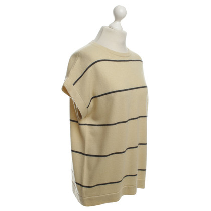 Brunello Cucinelli Striped cashmere top