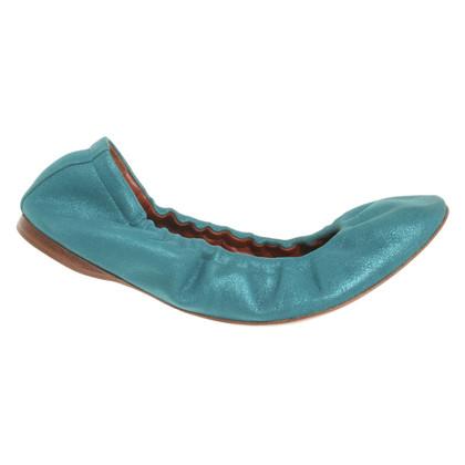 Missoni Ballerinas in turquoise