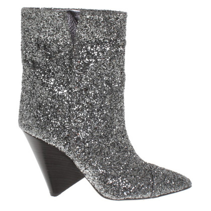 Isabel Marant Bottines avec garniture de sequins