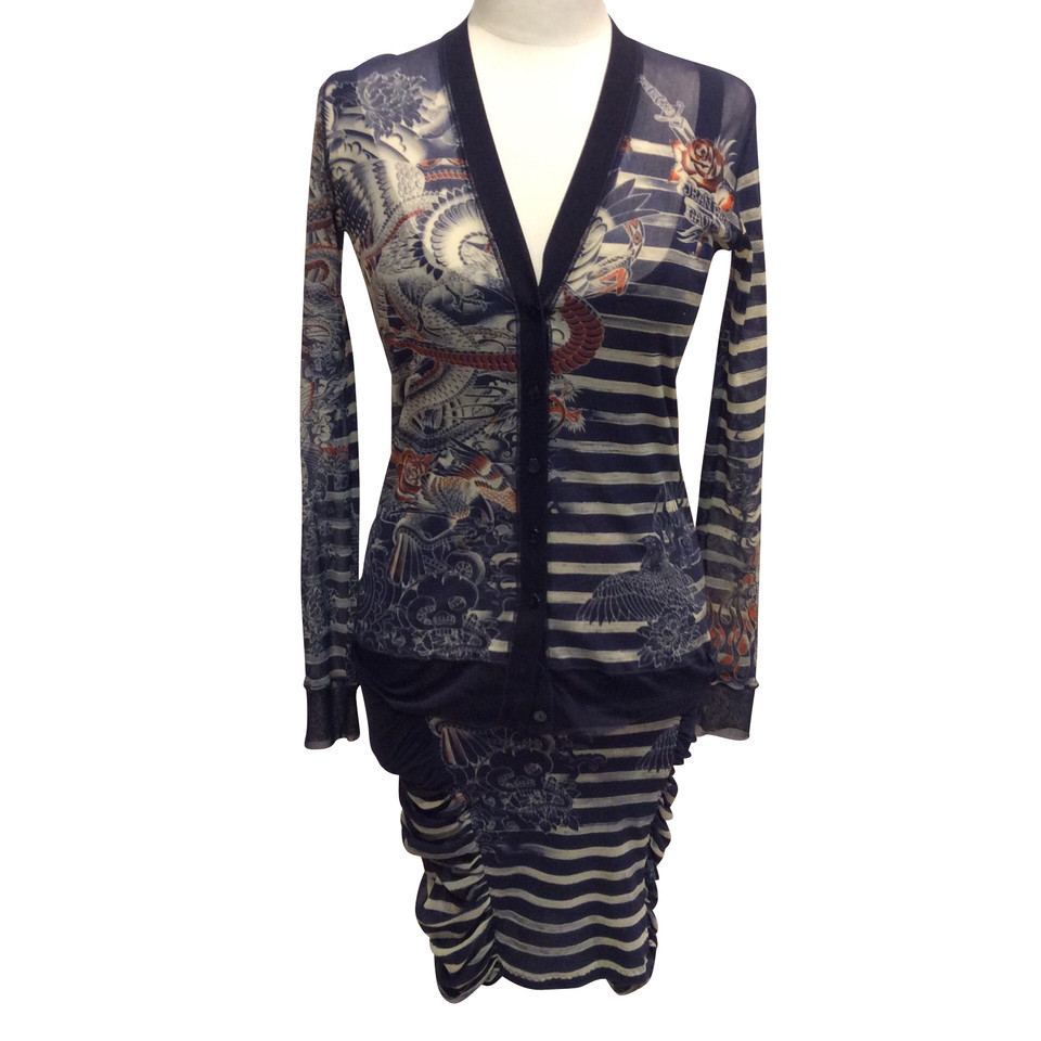 jean paul gaultier 3 piece costume koop tweedehands jean paul gaultier 3 piece costume voor. Black Bedroom Furniture Sets. Home Design Ideas