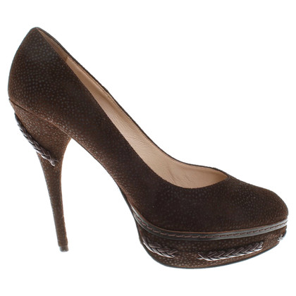 Ermanno Scervino pumps in dark brown