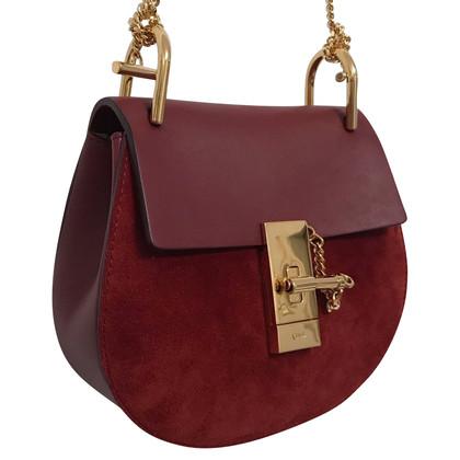 Chloé Drew Saddle Bag Prune / Violet