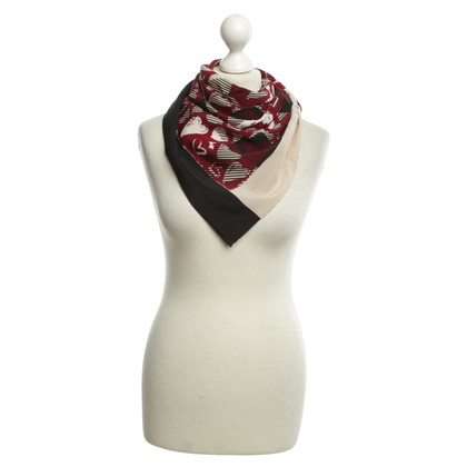 Burberry Silk scarf with pattern mix