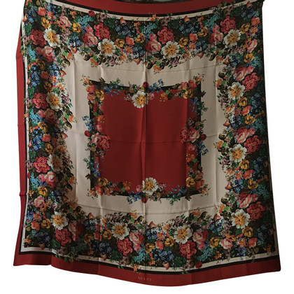 Gucci Silk-stole with fringes
