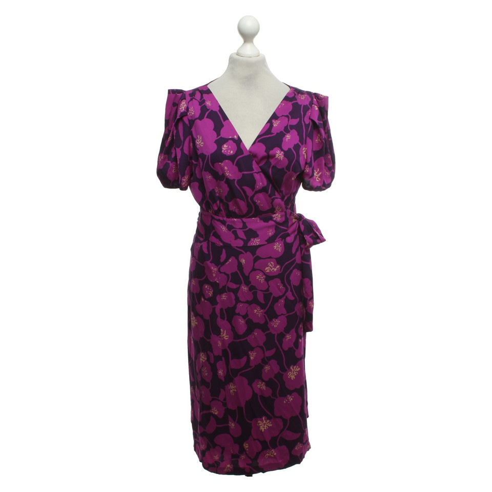 diane von furstenberg robe portefeuille avec motif acheter diane von furstenberg robe. Black Bedroom Furniture Sets. Home Design Ideas