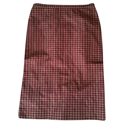 Moschino Cheap and Chic skirt in red