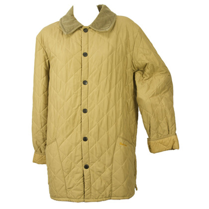 Barbour Quilted Jacket in Beige