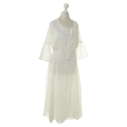 Maje Cream summer dress