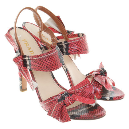 Prada Sandals in red