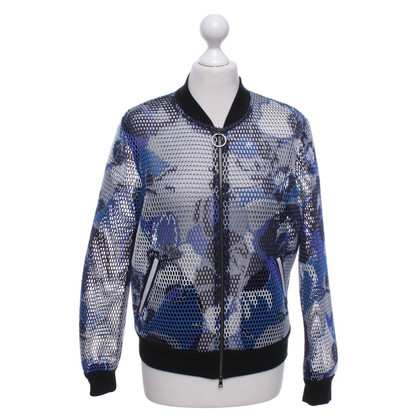 Marc Cain Bomber jacket with pattern